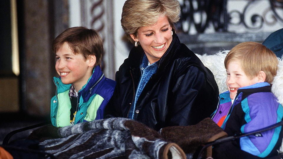 Prinzessin Diana, William, Harry