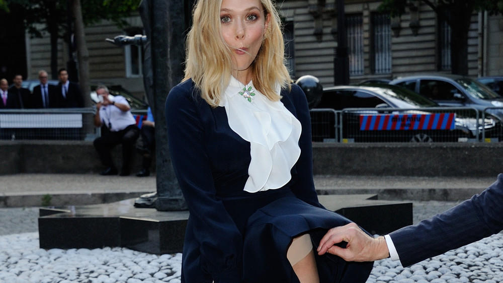 Elizabeth Olsen: Marilyn-Moment während der Paris Fashion Week