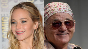 Jennifer Lawrence outet sich als Fan von Bill Murray