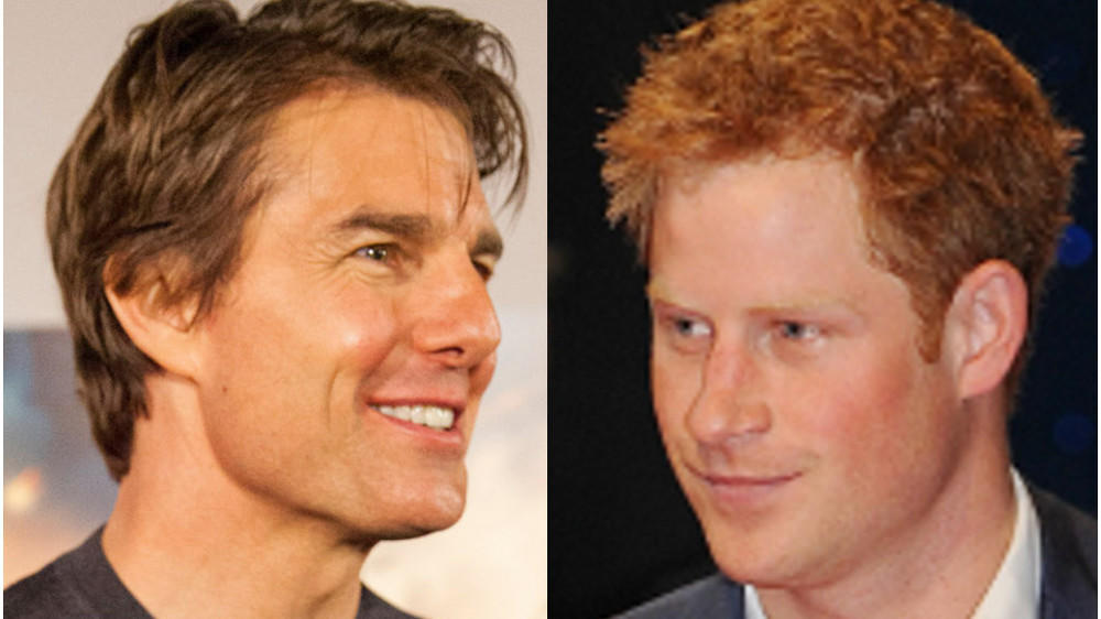 "Tom Cruise will Prinz Harry für ""Top Gun"" gewinnen"