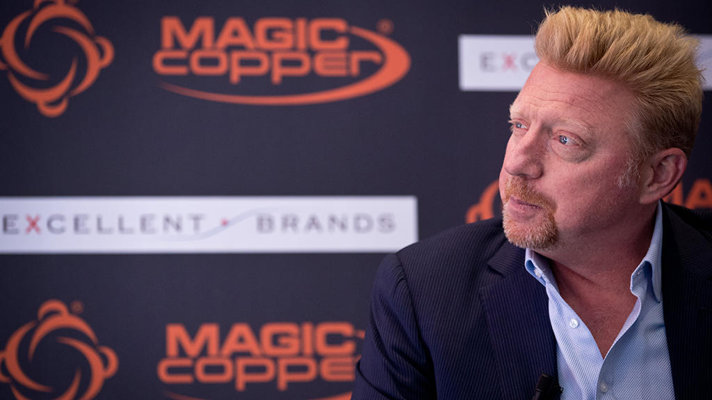 Boris Becker ist ein Teamplayer