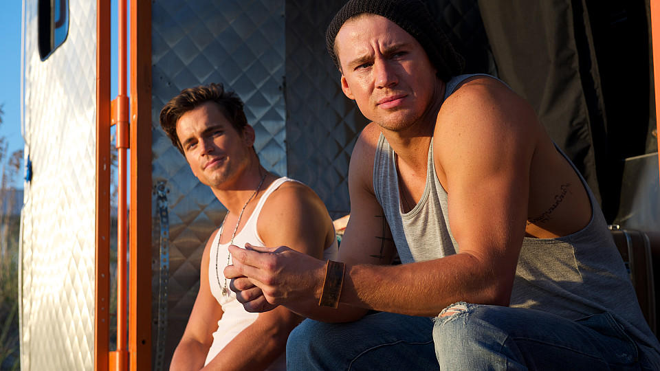 Matt Bomer und Channing Tatum spielen in Magic Mike XXL mit
