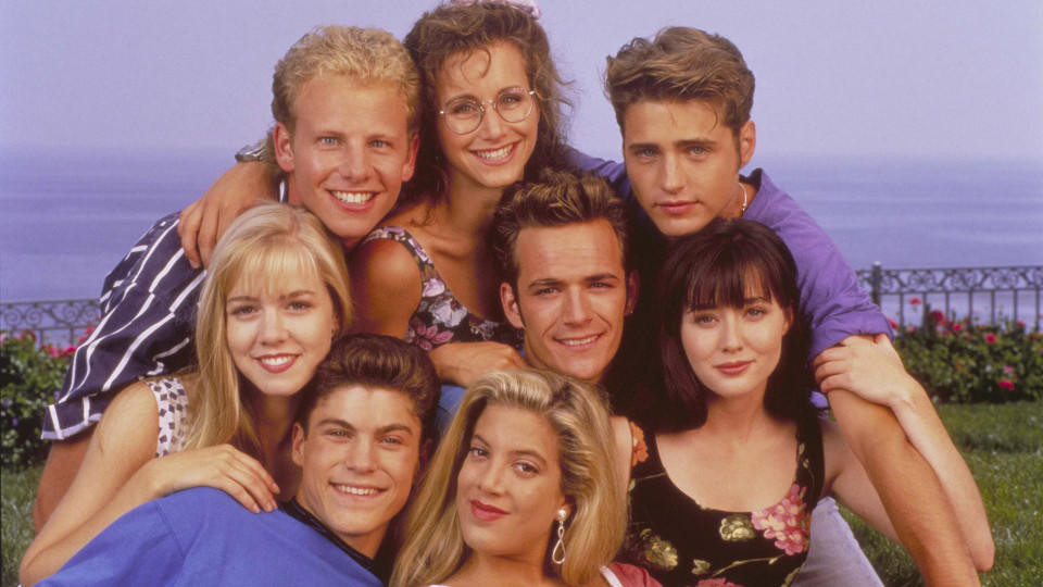 Beverly Hills 90210 war die Kultserie in den 90ern