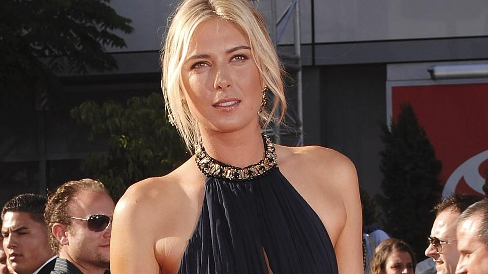 Maria Sharapova auf dem Red Carpet
