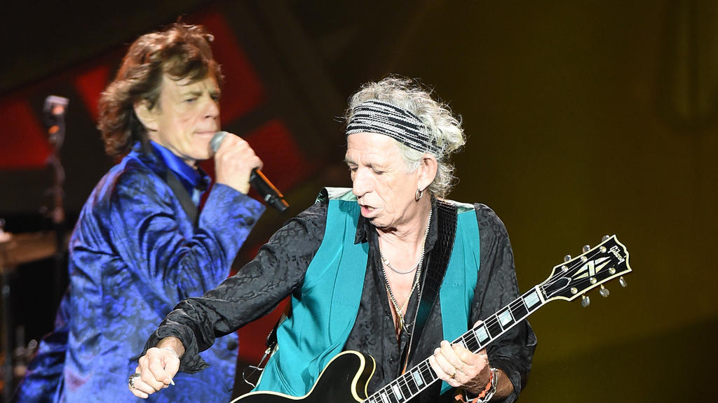 Keith Richards streitet gern mit Mick Jagger