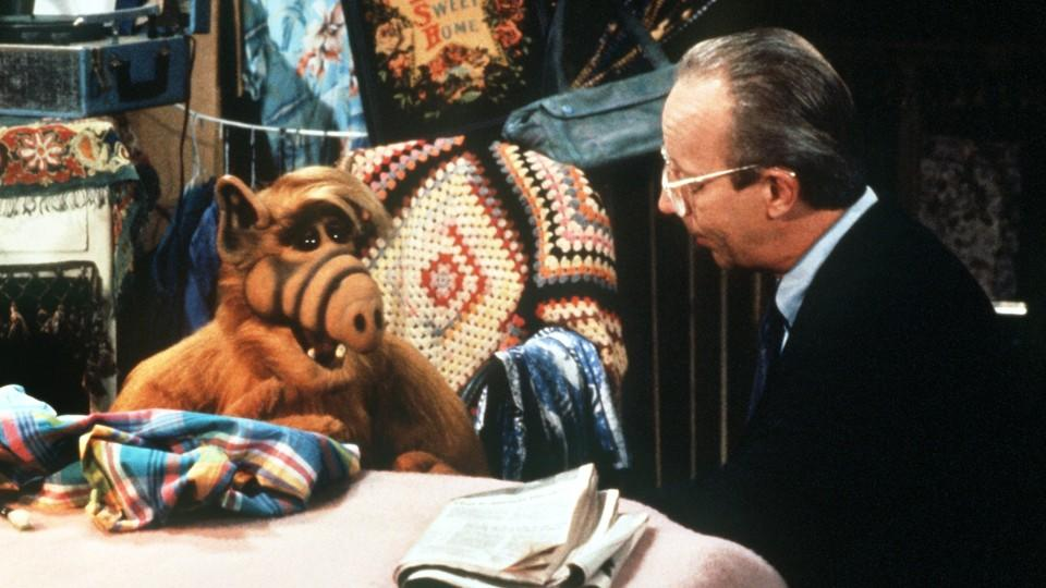 Max Wright in 'Alf'