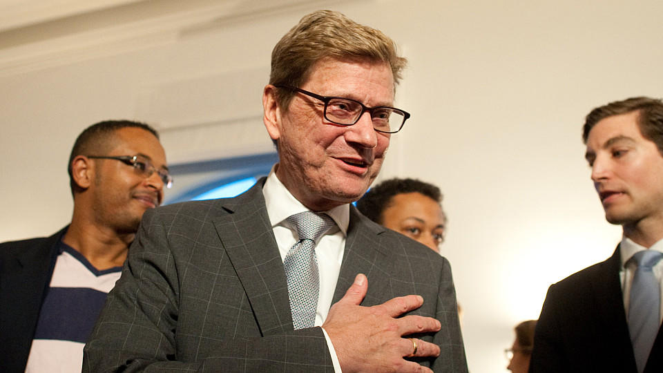 Guido Westerwelle in Berlin.
