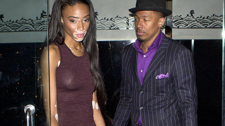 Nick Cannon und Winnie Harlow in Los Angeles