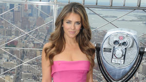 Liz Hurley: Pretty in Pink
