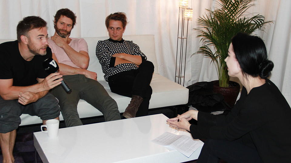 Take That im Interview