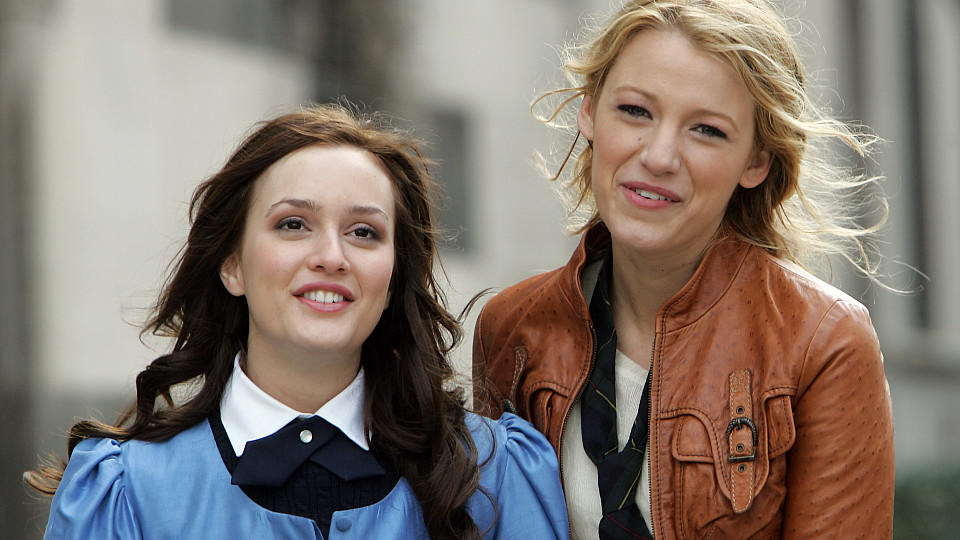 Leighton Meester und Blake Lively in 'Gossip Girl'.