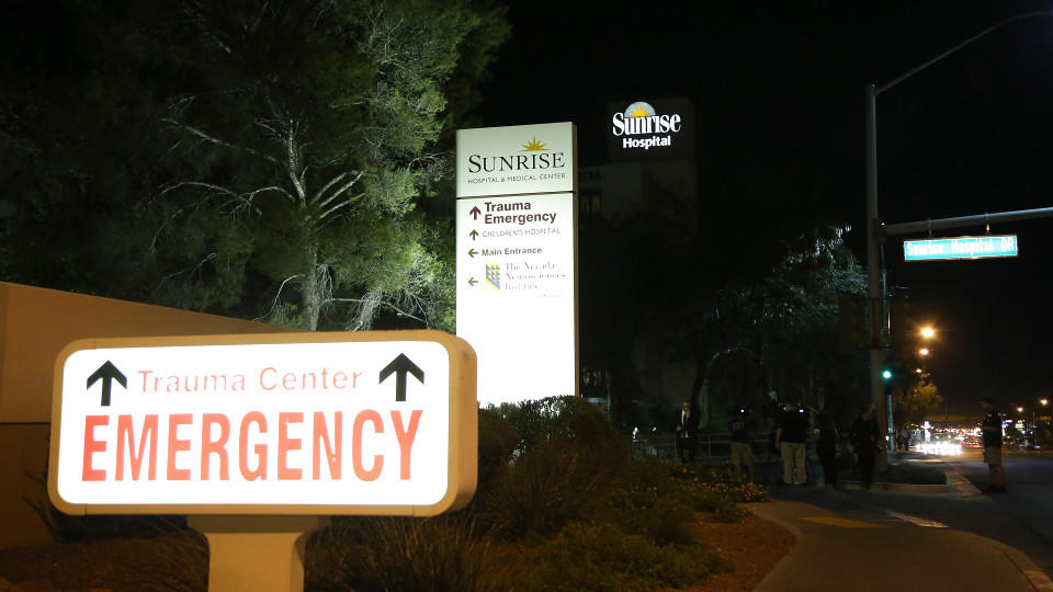 Im Sunrise Hospital & Medical Center wird Lamar Odom behandelt.