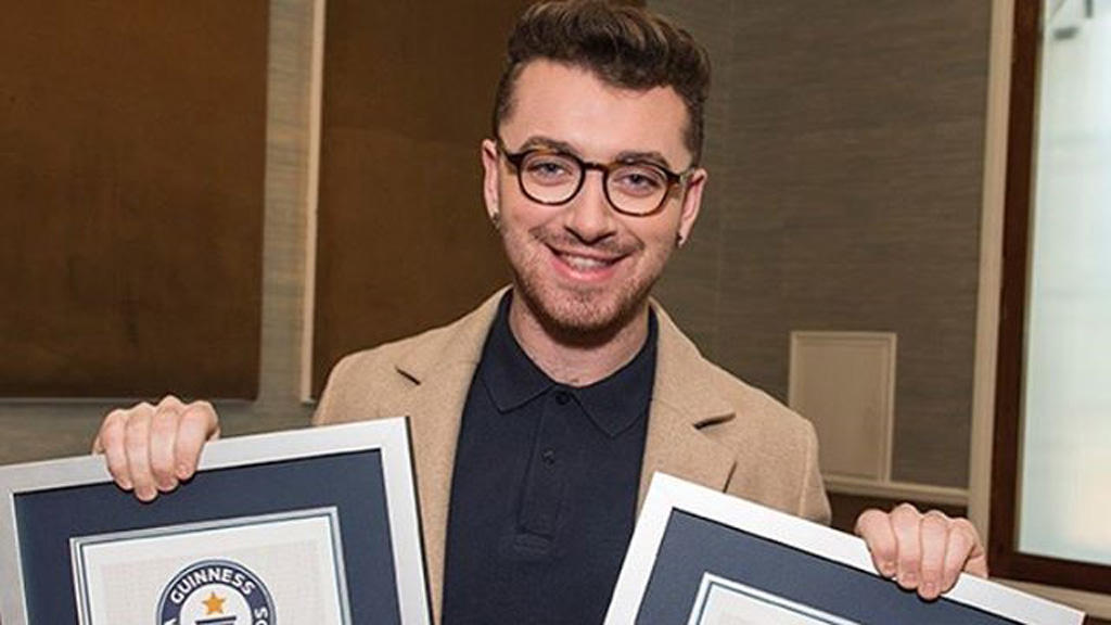 Sam Smith bricht Rekorde