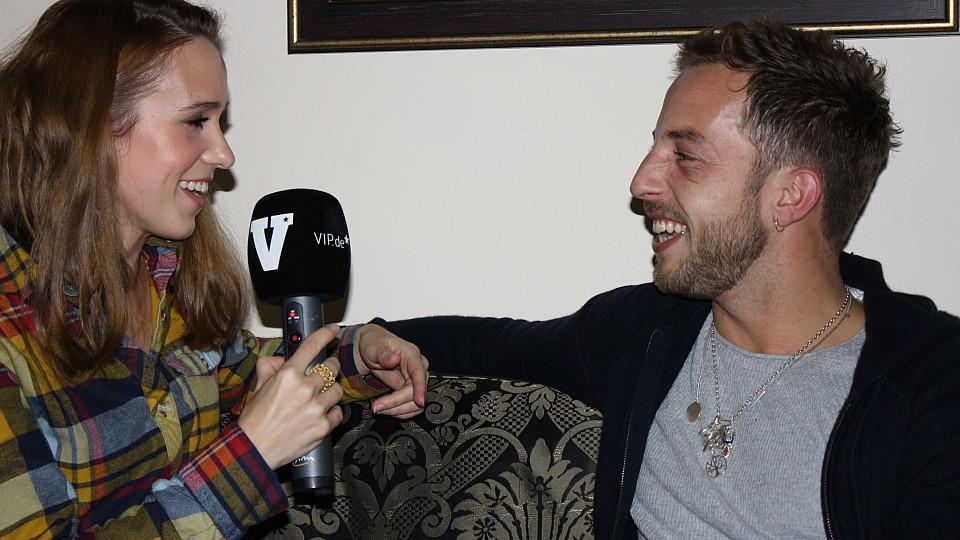 Rebekka Kaiser interviewt James Morrison.