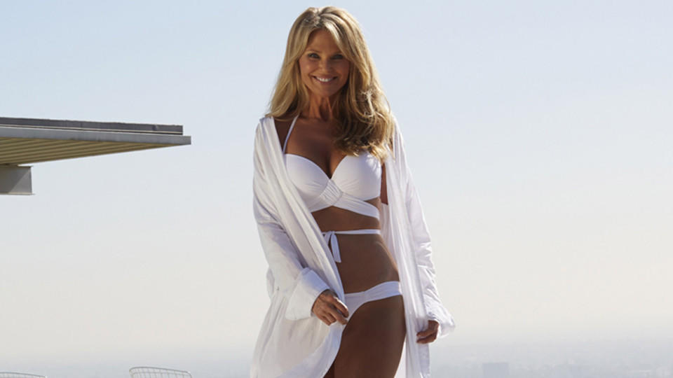 Das Model Christie Brinkley