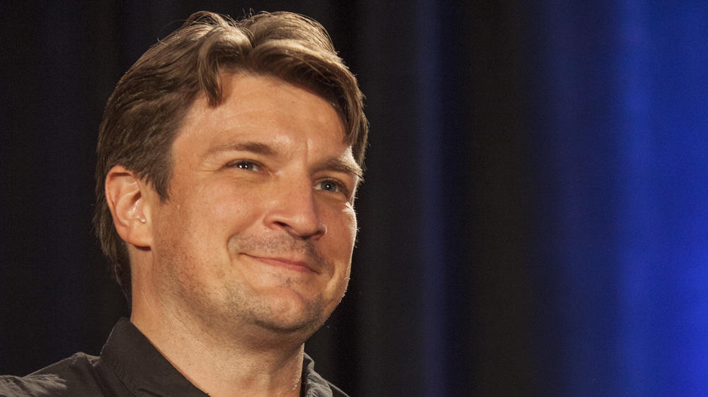 Nathan Fillion datet Krista Allen