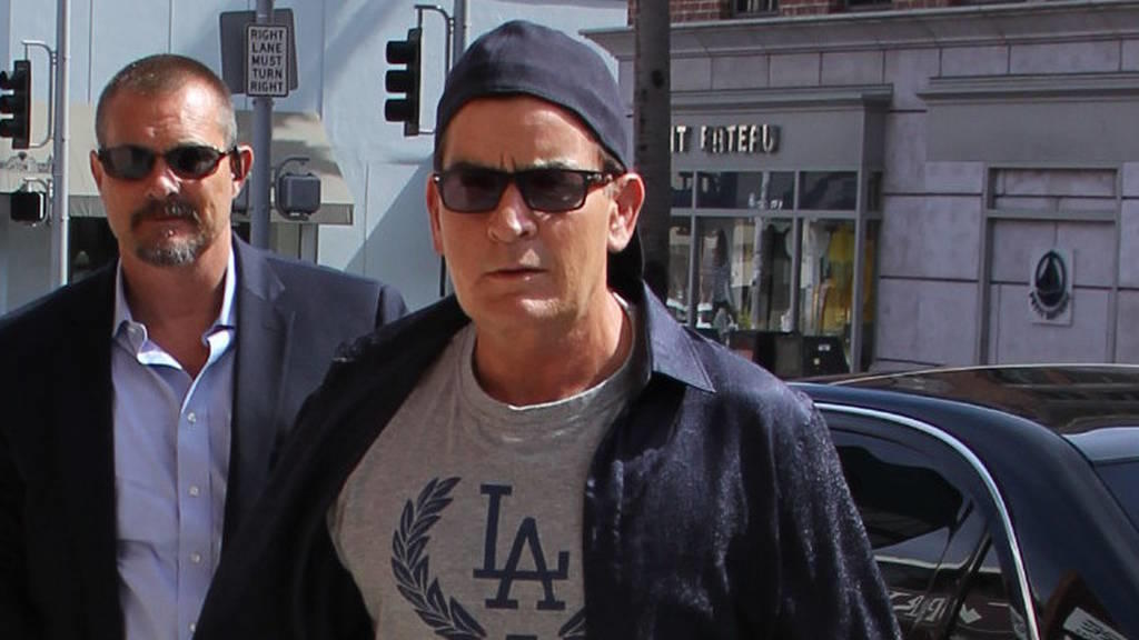 Charlie Sheen hat HIV