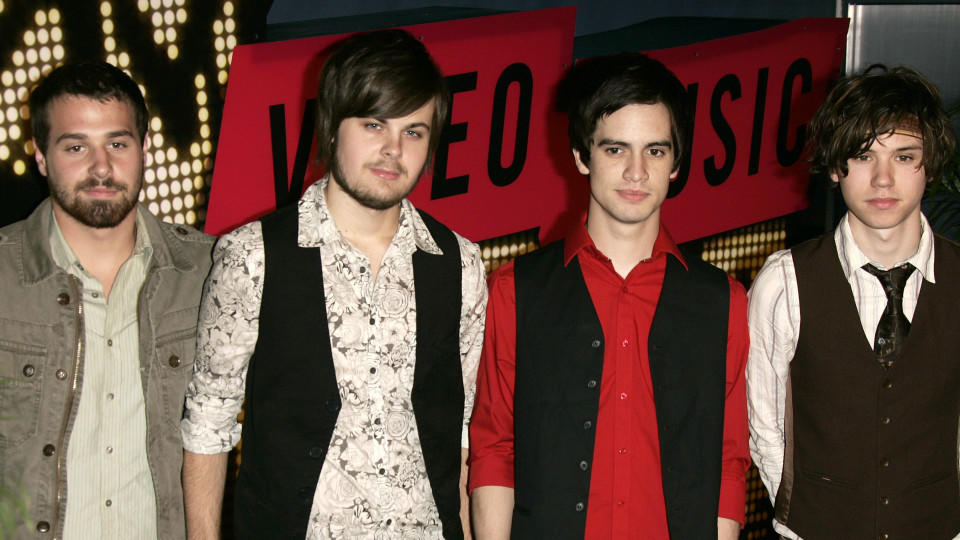 Die Rockband Panic! at the Disco
