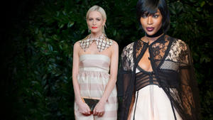British Fashion Awards: Topmodels ohne Glamour