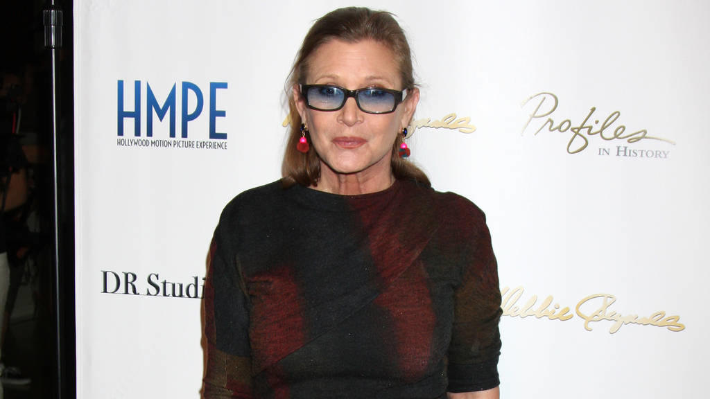Carrie Fisher ärgert sich über Hollywood