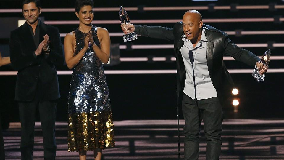 People's Choice Awards 2016: Vin Diesel sorgte für ein emotionales Highlight