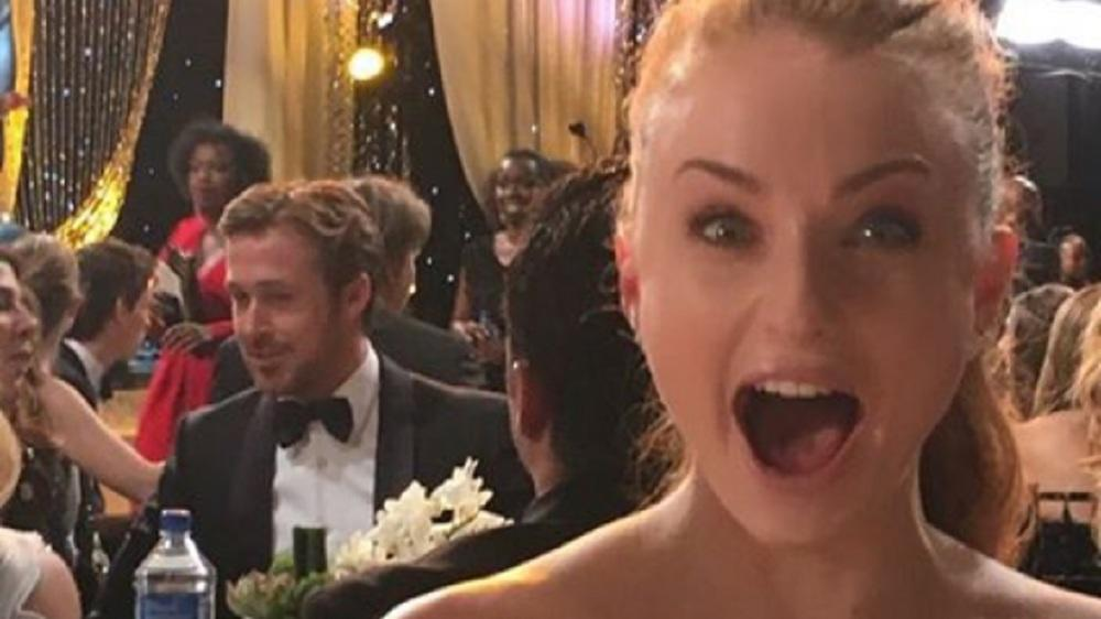 "Sophie Turner: ""GoT""-Star wird bei Ryan Gosling zum Fan-Girl"