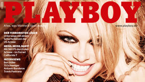 "Sexy Finale: Pamela Anderson auf dem ""Playboy""-Cover"