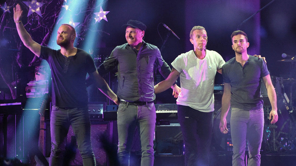 Coldplay rockt Glastonbury