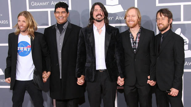 Die Foo Fighters legen ihre Instrumente weg