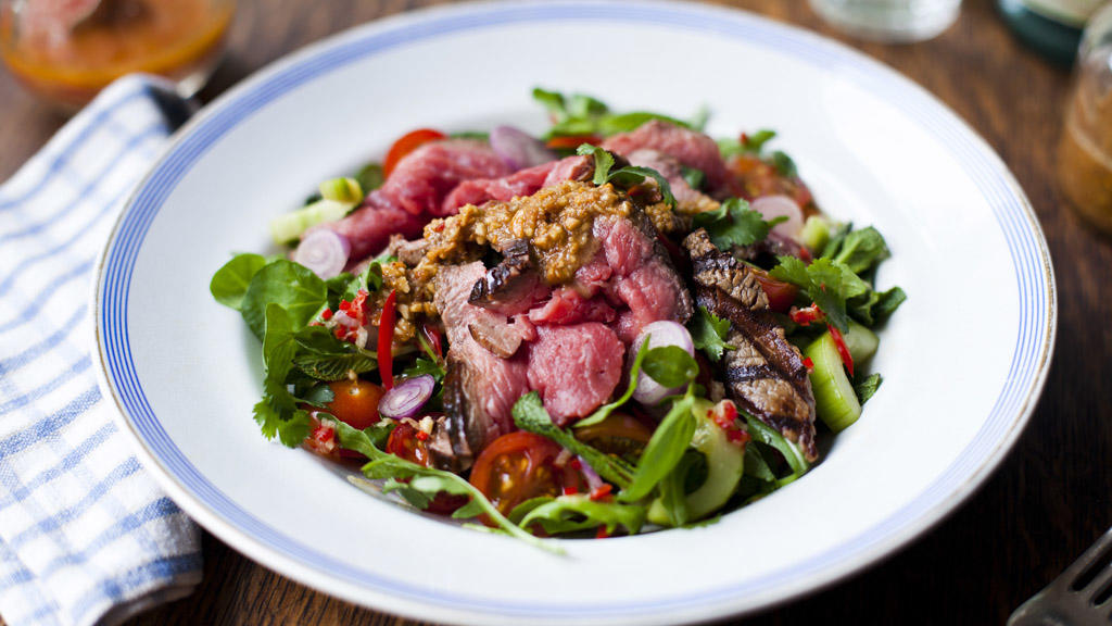 Bord Bia Asian Beef Salad