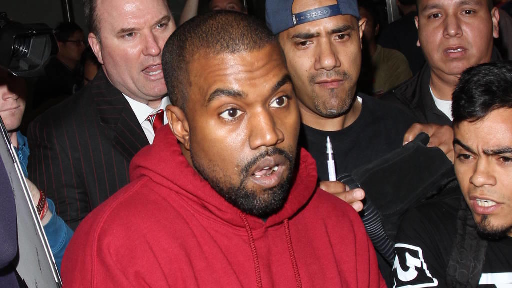 Kanye West will ein sauberes Strafregister