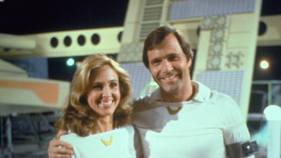 Erin Gray in der Serie 'Buck Rogers'