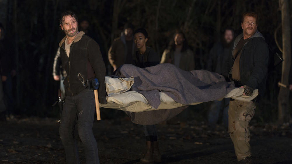 """The Walking Dead"": Die Mutter aller Cliffhanger"