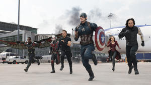 """The First Avenger: Civil War"": Spektakel made in Germany"