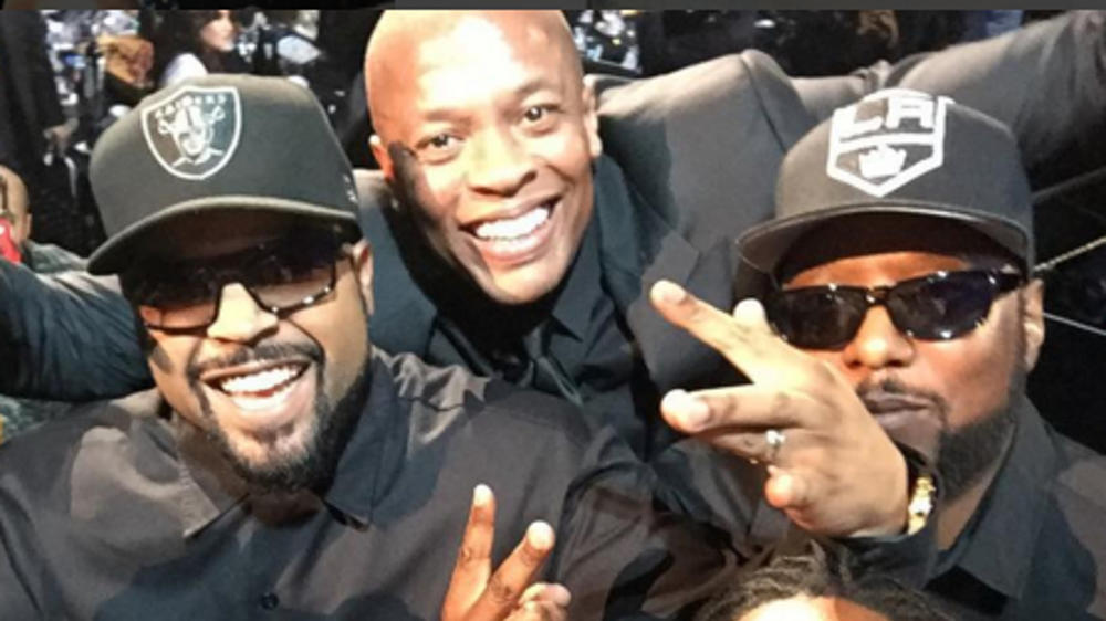 N.W.A in Rock'n'Roll Hall of Fame aufgenommen