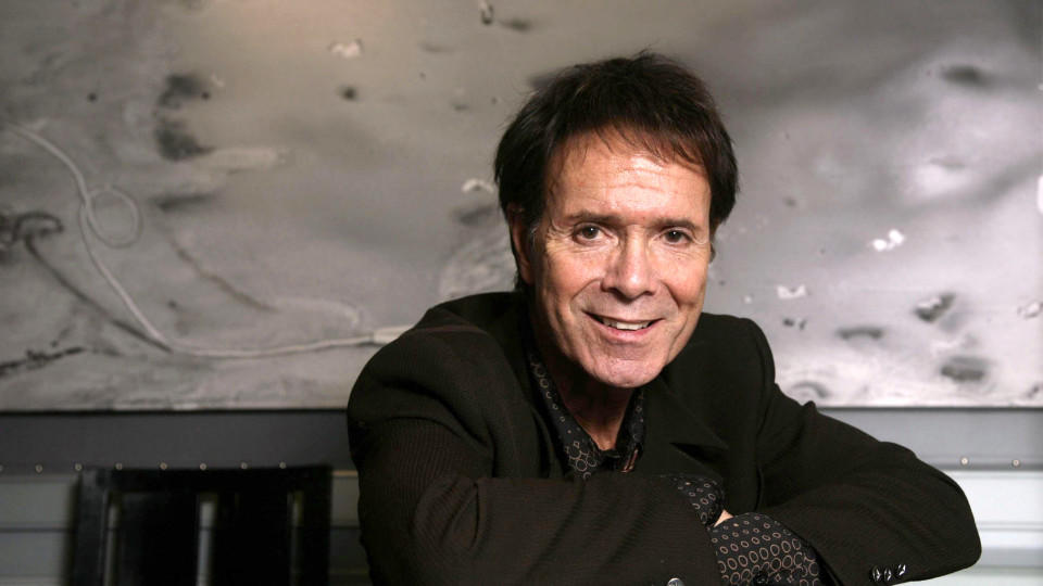 Der Musiker Cliff Richard