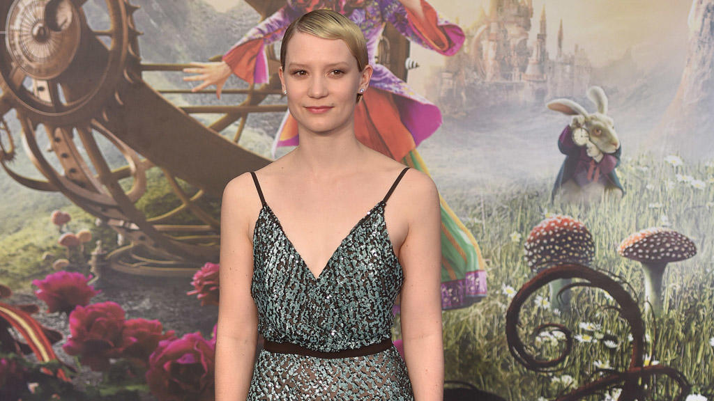 Mia Wasikowska: Horrorstunden am Set