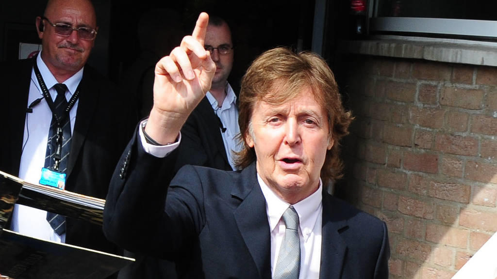 Paul McCartney und der Elektro-Hit