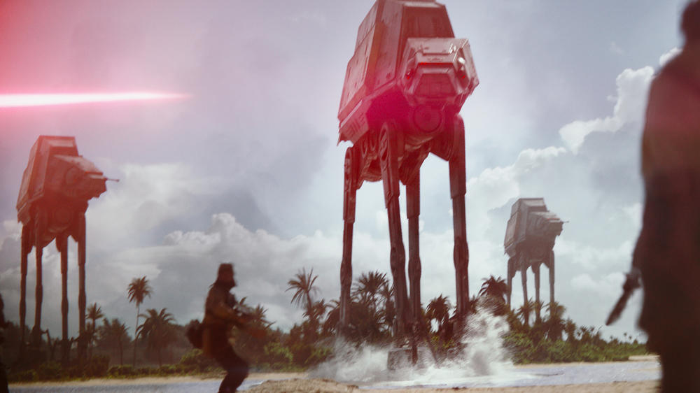 """Star Wars"": Wird ""Rogue One"" zum Desaster?"