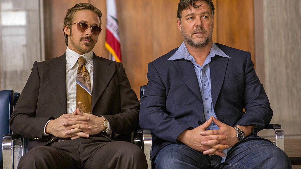 Filmkritik zu 'The Nice Guys': Coole Buddy-Action mit Ryan Gosling und Russell Crowe