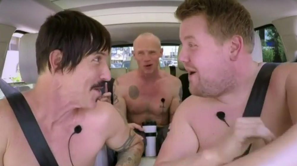 Red Hot Chili Peppers ziehen für James Corden blank