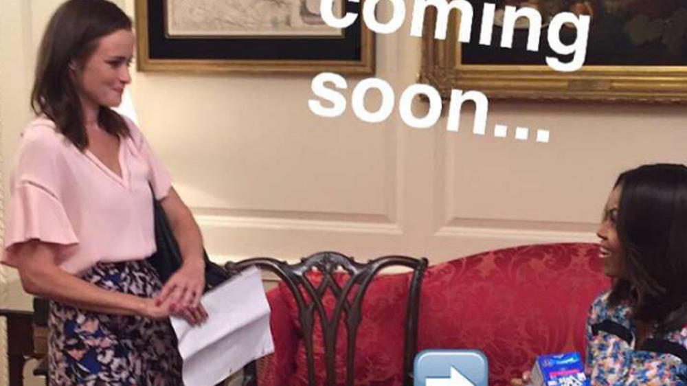 "Was macht Michelle Obama bei den ""Gilmore Girls""?"