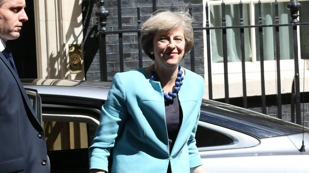 So lebt Premierministerin Theresa May in der Downing Street Nr. 10