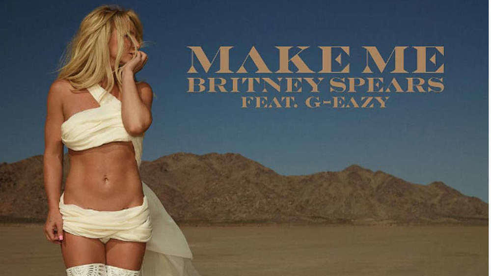 "Britney Spears: Sexy Artwork zur neuen Single ""Make Me"""
