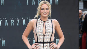 Margot Robbie musste spucken