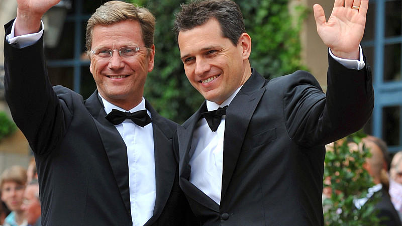 Guido Westerwelle hat geheiratet