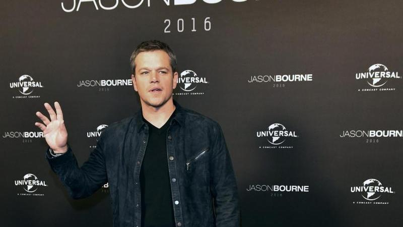 Matt Damon in Berlin