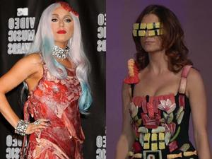 GaGa vs. Kate Walsh - welches Outfit ist skurriler?