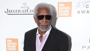 Morgan Freeman: Burn-out? Malen hilft!