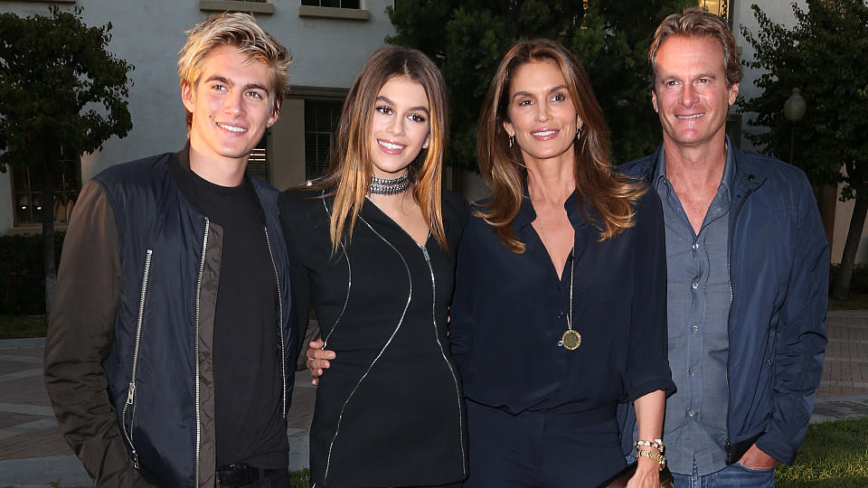 Premiere of Lifetime's 'Sister Cities' - ArrivalsFeaturing: Presley Walker Gerber, Kaia Gerber, Cindy Crawford, Rande GerberWhere: Hollywood, California, United StatesWhen: 31 Aug 2016Credit: FayesVision/WENN.com